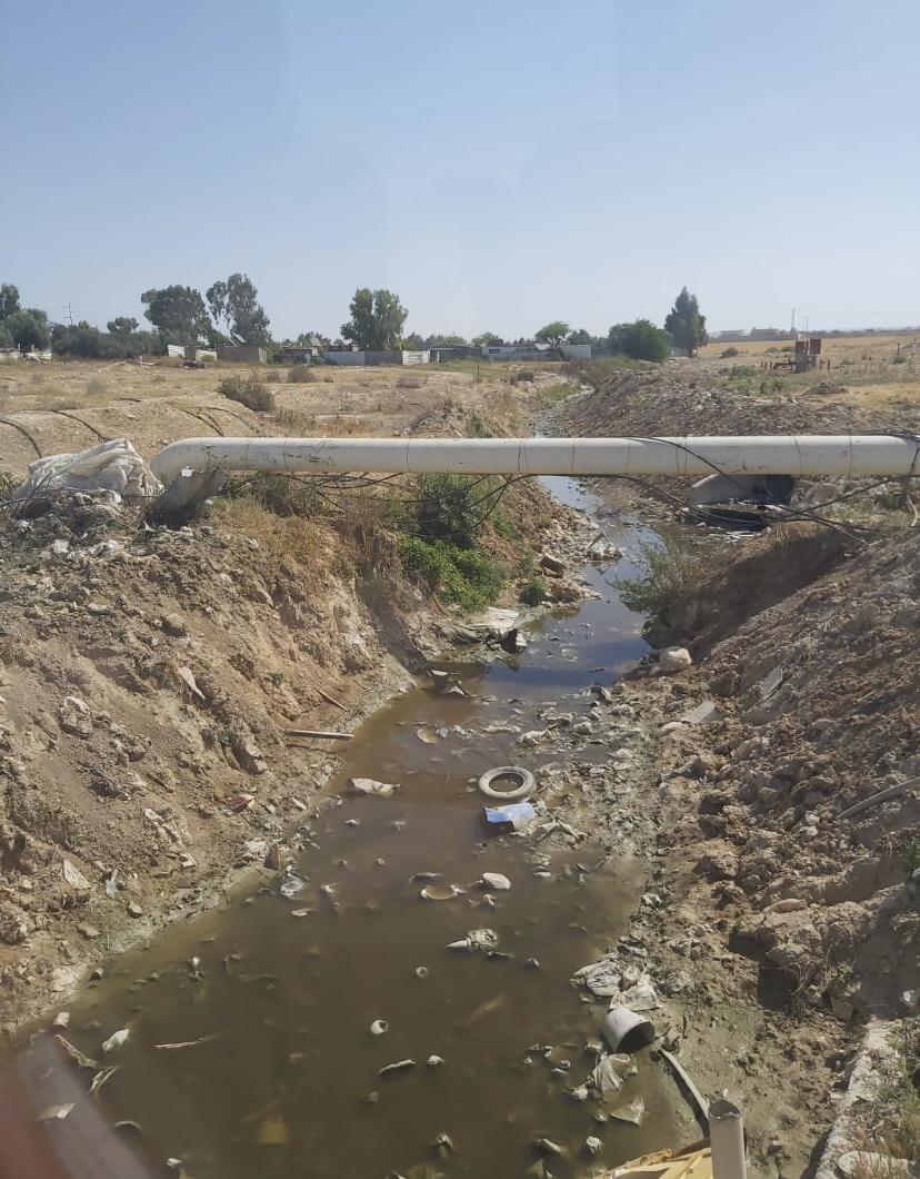 בעיית זיהום המים בנחל חברון