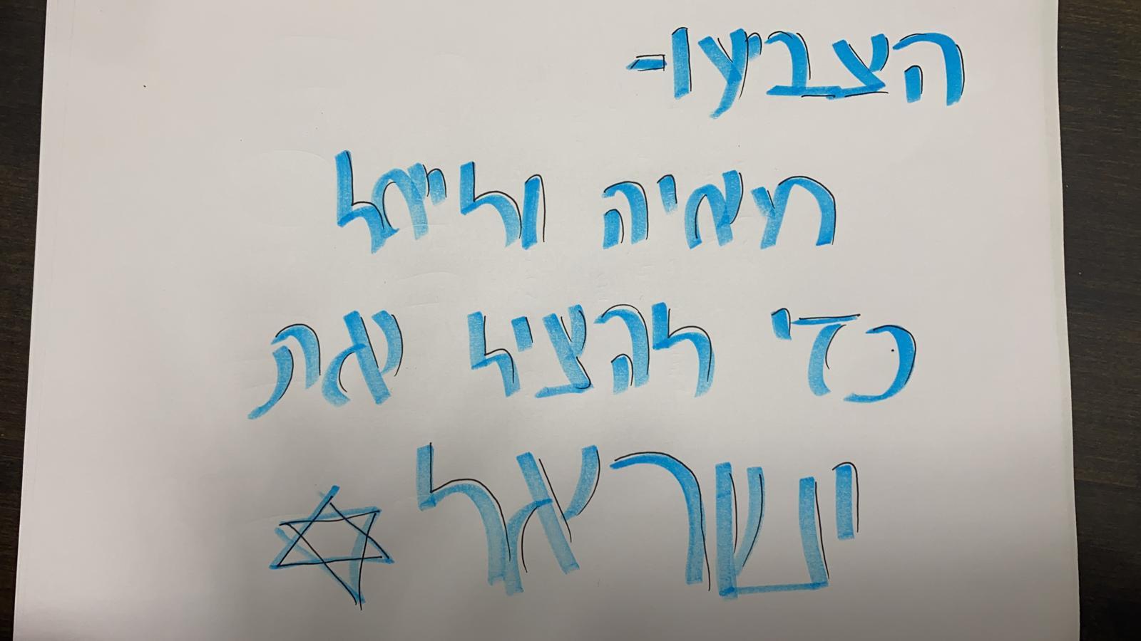 מפלגת שלוות חיים- בראשות מאיה בן דוד וליאל כהן