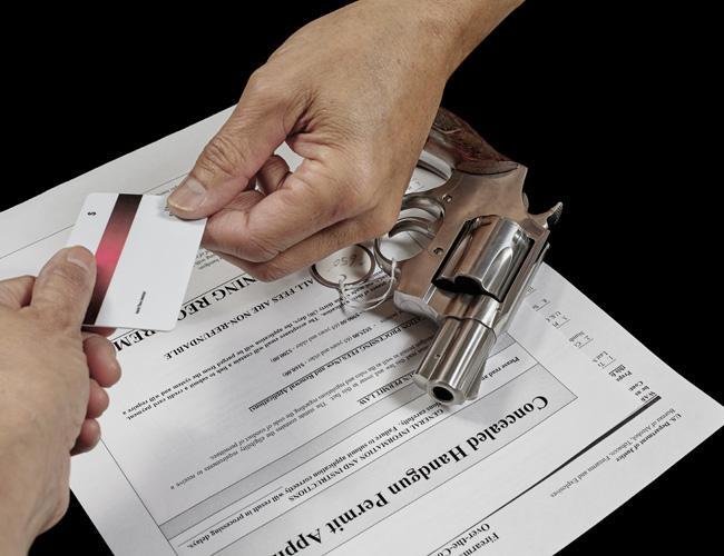 רישיון לנשיאת נשק אישי