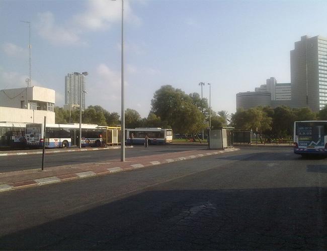 הפסקת זיהום האויר בחניון האוטובוסים כרמלית בתל אביב
